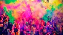 صور الهند تحتفل بهولي، مهرجان الألوان