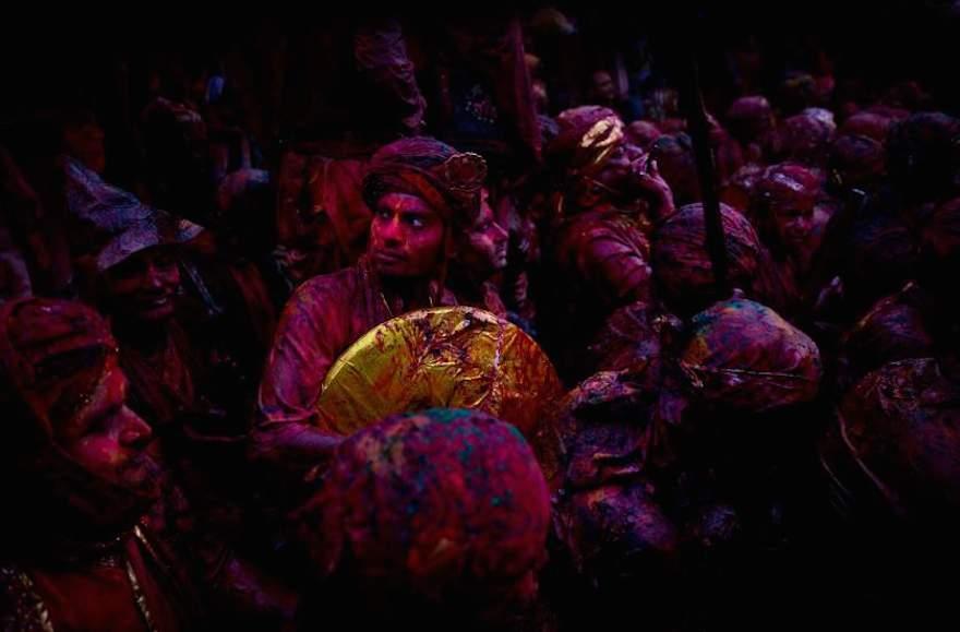 APTOPIX India Lathmar Holi