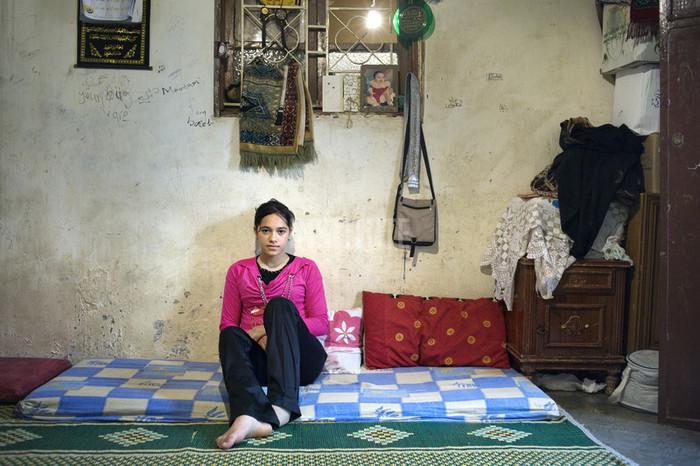 Mariam, Bourj al Shamali Palestinian Refugee Camp, Tyre, Lebanon 2009