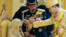 سلطان بروناي يهدي عروسه حفل زفاف أسطوري