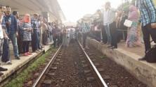 """فوضى بمحطة الرباط ومواطنون يرفعون شعار """"oncf ديكاج"""""""