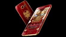 سامسونغ تطلق نسخة من هاتفها ڭلاسي إس6 إيدج بألوان آيرون مان