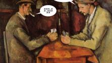 ماذا لو كانت اللوحات الفنية المشهورة تتكلم بالدارجة – الجزء الثاني