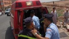 حادثة سير نواحي شيشاوة تودي بحياة 6 أطفال