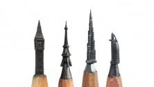 فن النحت على رؤوس أقلام الرصاص