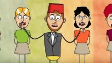 """النسخة الكرتونية لأغنية سعد لمجرد """"المعلم"""""""