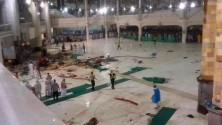 حصيلة مبدئية : وفاة 62 شخصا وإصابة 30 في سقوط رافعة بالحرم المكي