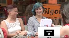 هولندية تربط صورة لعلم الدولة الإسلامية داعش بالمغرب