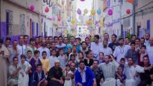 سكان حي مغربي بطنجة يحتفلون بعيد الأضحى على طريقتهم الخاصة