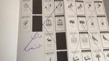 انتخابات 4 شتنبر : أطرف ما شهدته أوراق التصويت
