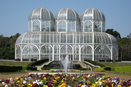 10. The Botanical Garden of Curitiba