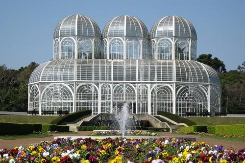 10. The Botanical Garden of Curitiba
