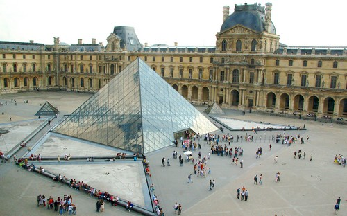 4. Louvre Pyramid, Paris