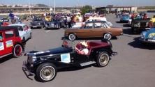 40 سيارة عتيقة تحيي ذكرى مرور أربعين سنة على انطلاق المسيرة الخضراء