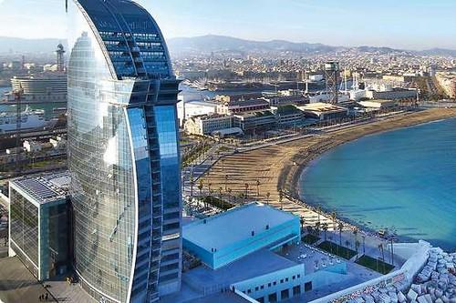 6. Hotel W, Barcelona