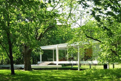 8. The Farnsworth House, Plano
