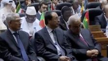 بنكيران يأخذ قيلولة وينام في المؤتمر الإسلامي لوزراء البيئة بالرباط