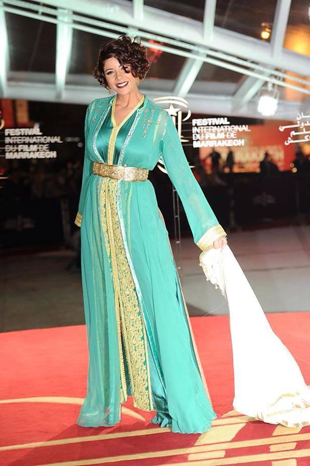 ليلى حديوي، أيقونة الموضة المغربية.