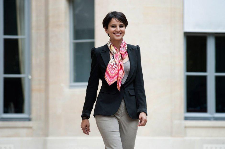 نجاة فالو بلقاسم، مغربية وزيرة للتربية الوطنية بفرنسا.
