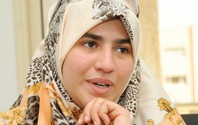 هاجر بوساق، مغربية فائزة بمسابقة تجويد عالمية.