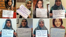 ردّ قوي من نساء مسلمات على نعت رئيس الوزراء البريطاني لهن بالخاضعات