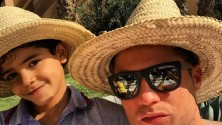 كريستيانو رونالدو بمراكش من جديد بصحبة إبنه