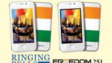 Freedom 251، الهاتف الذكي الهندي الصنع الذي لا يتجاوز ثمنه 40 درهما