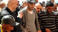 بالدموع، تشييع جنازة لبنى الفقيري، ضحية تفجيرات بروكسيل المغربية
