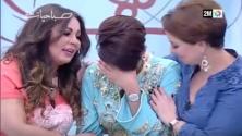 ليلى حديوي تنفجر بالبكاء عند سماعها لأغنية 'با لحنين' في برنامج صباحيات 2M