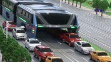 لحل مشكل أزمة المرور، الصين تخترع حافلة المستقبل