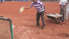 فيديو: طريقة مغربية مبتكرة لتجفيف أرضية ترابية في 5 ثوان