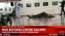 4 معلومات حول حادث اغتيال السفير الروسي في تركيا