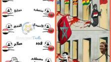 كأس أمم إفريقيا 2017: حرب 'الطرولات' بين المغاربة والمصريين