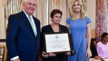 القاضية المغربية أمينة أفروخي تنال لقب بطلة مكافحة الإتجار في البشر لسنة 2017