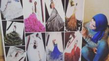 سالمة سلال: المغربية التي تمزج خيال اللوحات الفنية والتصاميم بجمالية الواقع