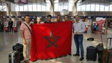 الخبر السار: وصول الفريق المغربي إلى إيران للمشاركة في الأولمبياد الدولي للمعلوميات