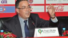 فوزي لقجع رئيساً على رأس الجامعة المغربية لكرة القدم إلى غاية 2021