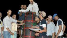 مراكش تحتفي بأكبر طبق طنجية في العالم من قلب ساحة جامع الفنا