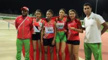 المنتخب المغربي للناشئين والناشئات بطلاً للبطولة العربية لألعاب القوى