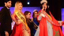 المغربية شرين حسني تتوج بلقب ملكة جمال العرب لسنة 2018