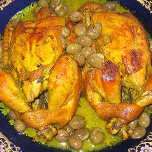 الدجاج بالزيتون