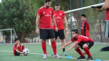 نادي أي سي ميلان الإيطالي يفتتح أكاديميته بمدينة العيون