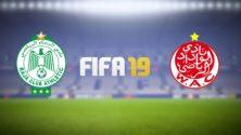 فريقي الرجاء والوداد البيضاويين حاضران في لعبة FIFA 19