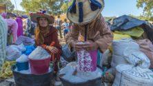 نساء قرية بريكشة: يصنعن ذهباً أبيضاً .. ويجنين الشقاء الأصعب