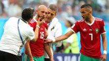 أبهر العالم بتضحيته .. أمرابط كاد أن يموت في مباراة البرتغال، فأكملها وأوصى بالاعتناء بعائلته