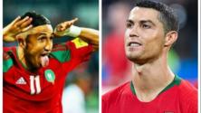 بعد أن صرح فيصل فجر أنه لا يخافه، كريستيانو رونالدو يتوعد المنتخب المغربي بتسجيل ثلاثية في مرماه