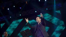 موازين 2018: أمير دندن يرافق الأيقونة وائل جسار على منصة فضاء النهضة وسط أجواء هستيرية من المعجبين