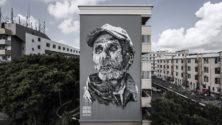 هذا الفنان الألماني يرسم وجوه مغاربة على جدران بنايات عالمية