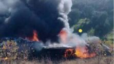 عاجل .. تحطم طائرة حربية تابعة للقوات المسلحة الملكية بالنواحي تاونات