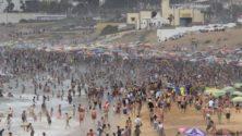 صور: شاطئ عين الذياب في زمن كورونا